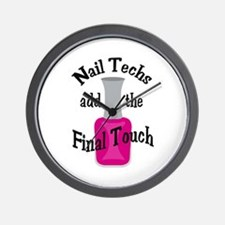 THE FINAL TOUCH Wall Clock