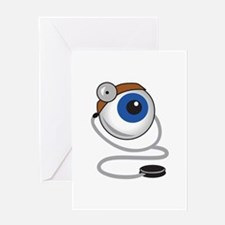 OPTOMITRIST EYE Greeting Cards