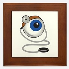 OPTOMITRIST EYE Framed Tile