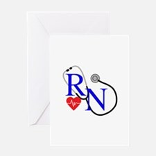 RN FULL FRONT Greeting Cards