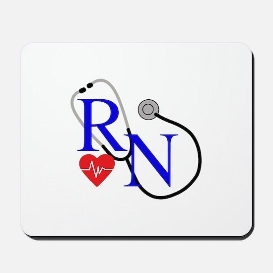 RN FULL FRONT Mousepad