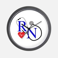 RN FULL FRONT Wall Clock