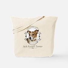 Life's Better Terrier Tote Bag