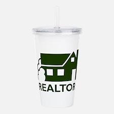 HOUSE REALTOR Acrylic Double-wall Tumbler