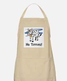 Cow BBQ Apron: No Tipping!