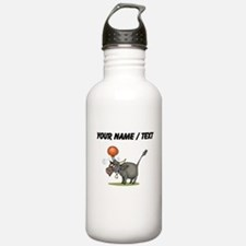 Custom Bull With Ball Water Bottle