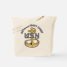 Unique Navy chief Tote Bag