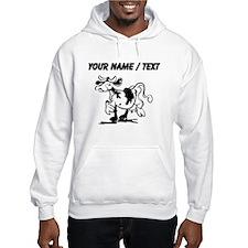 Custom Cow Strutting Hoodie
