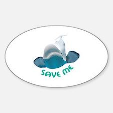 SAVE ME Decal