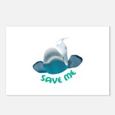 SAVE ME Postcards (Package of 8)