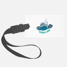 SAVE ME Luggage Tag