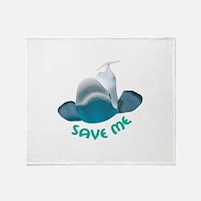 SAVE ME Throw Blanket