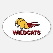 WILDCATS CLAW Decal