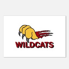 WILDCATS CLAW Postcards (Package of 8)