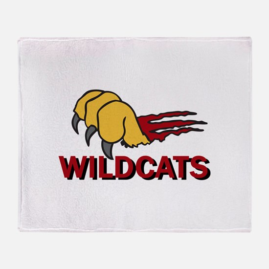 WILDCATS CLAW Throw Blanket