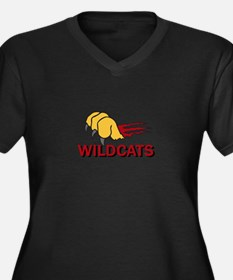 WILDCATS CLAW Plus Size T-Shirt