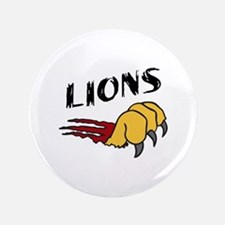"""LIONS CLAW TEAR 3.5"""" Button"""