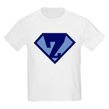 Super Hero Letter Z T-Shirt
