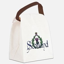 Scotland: Thistle Canvas Lunch Bag