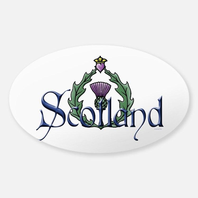 Scotland: Thistle Bumper Stickers