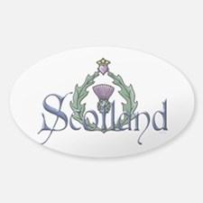 Scotland: Thistle Decal