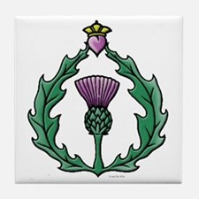 Scotland: Thistle Tile Coaster