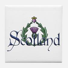 Scotland: Thistle Tile Coaster