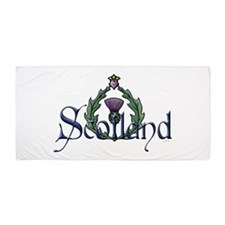 Scotland: Thistle Beach Towel