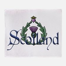 Scotland: Thistle Throw Blanket
