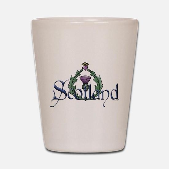 Scotland: Thistle Shot Glass