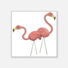 Flamingo Decorations Sticker