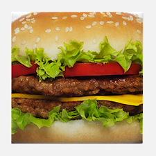 Burger Me Tile Coaster