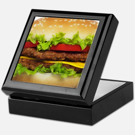 Burger Me Keepsake Box