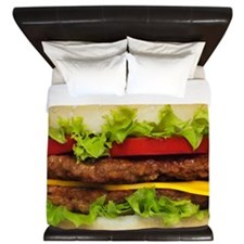 Burger Me King Duvet