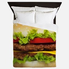 Burger Me Queen Duvet