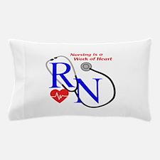 WORK OF HEART Pillow Case