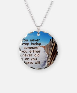 You Never Stop Necklace