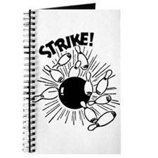 Strike! Retro Bowling Journal