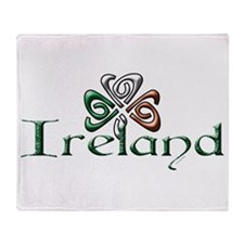 Ireland.png Throw Blanket