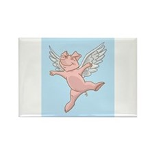 Cute Children art Rectangle Magnet (10 pack)