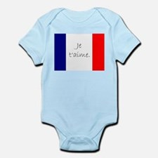 Je t'aime (I love you) - Charlie / Frenc Body Suit
