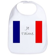 Je t'aime (I love you) - Charlie / French supp Bib