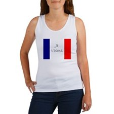 Je t'aime (I love you) - Charlie / French Tank Top