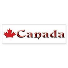 Canada: Maple Leaf Bumper Stickers
