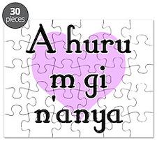 A huru m gi n'anya - Igbo I love you Puzzle
