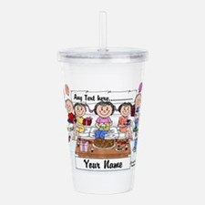 Party, Female Acrylic Double-wall Tumbler