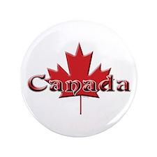 Canada: Maple Leaf Button