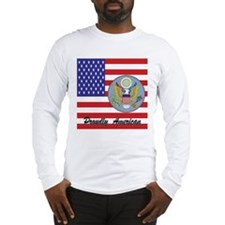Proudly American Long Sleeve T-Shirt