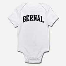 BERNAL (curve-black) Infant Bodysuit