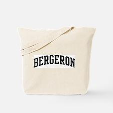 BERGERON (curve-black) Tote Bag